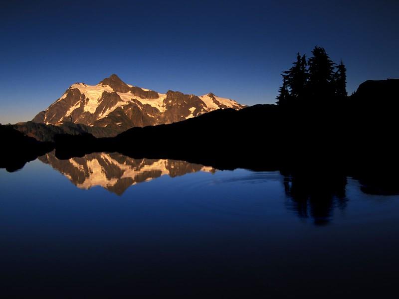 Sunset Reflections, Mount Shuksan,  Washington.jpg