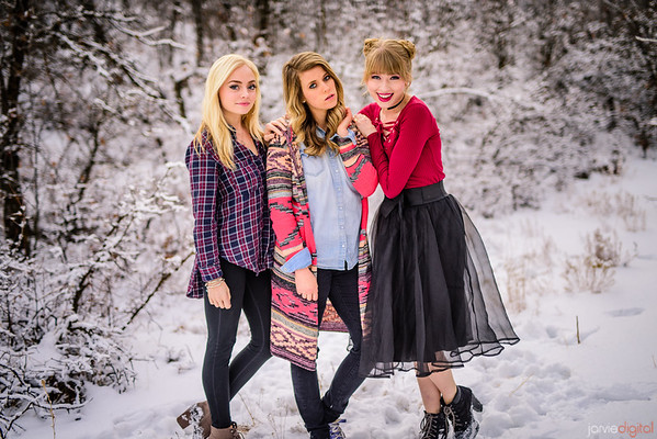 Sunday Photo Drive - Monica, Madilyn, Kelsey