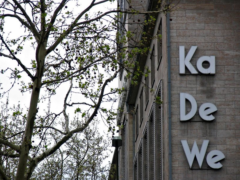 Ka De We (Kaufhaus des Westens) is Berlin's Harrods and reputedly the largest store in Europe