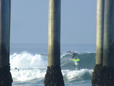 4/14/20 * DAILY SURFING PHOTOS * H.B. PIER