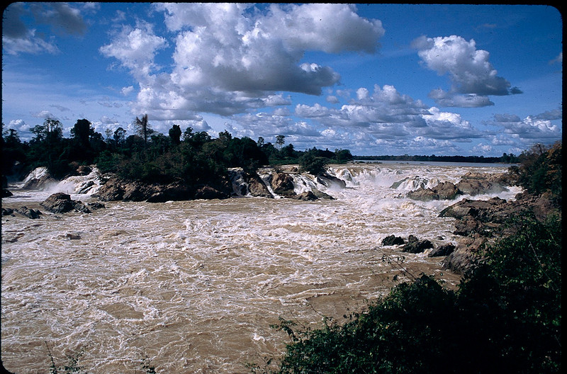 Khonephapheng Falls on the Mekong