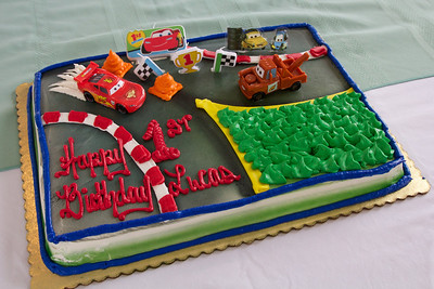 Lucas' 1st Birthday Party
