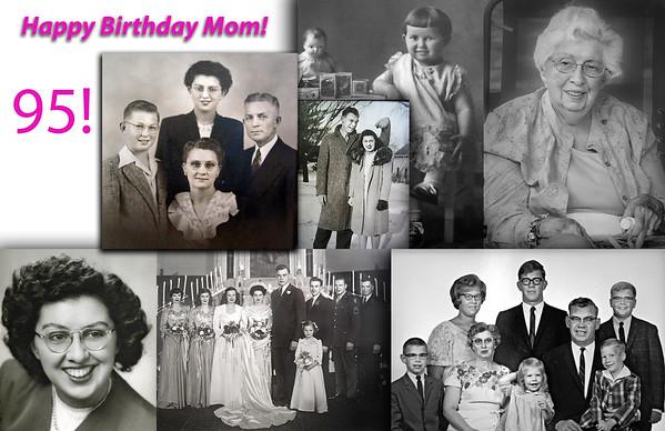 Happy Birthday Mom!  - Myra Lynner Peterson - 95!  2 20 2018