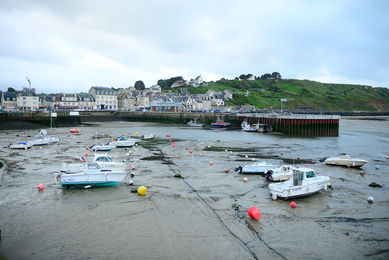 Port-en-Bessin Low tide