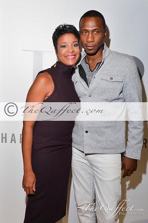 Harlem Fashion Row spring 2014: Step & Repeat