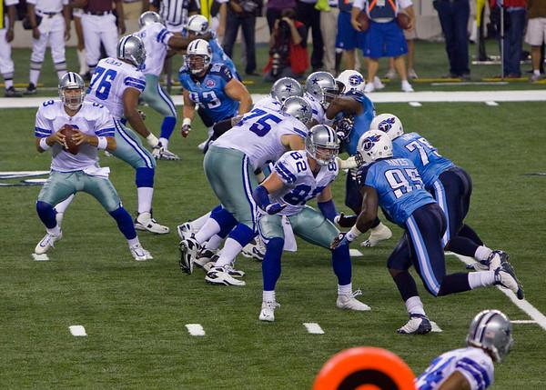 Cowboys vs Titans