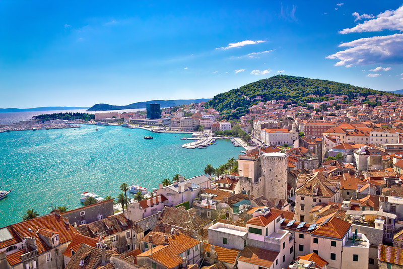Split Croatia cityscape