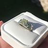 2.10ct Art Deco Peruzzi Cut Diamond Ring, GIA W-X SI2 30