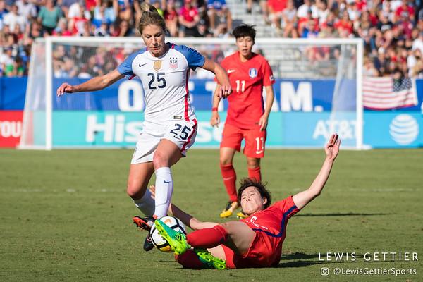 USWNT vs Korea Republic 10-22-2017
