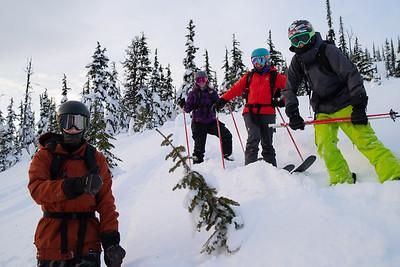 Staff Heli-Ski Photos Feb. taken by Rob