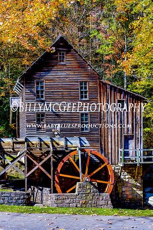 Glade Creek Grist Mill - 13 Oct 2012