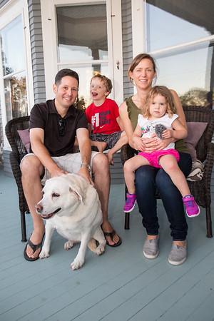 Petoskey family dog photography