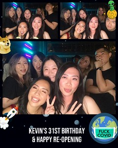 Kevin's 31st Birthday & Happy Re-Opening