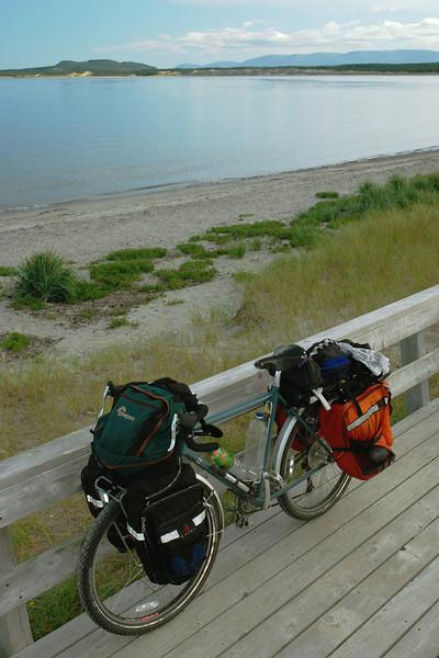 Mon Vélo - Baie Shallow, parc national de Gros Morne, Terre-Neuve
