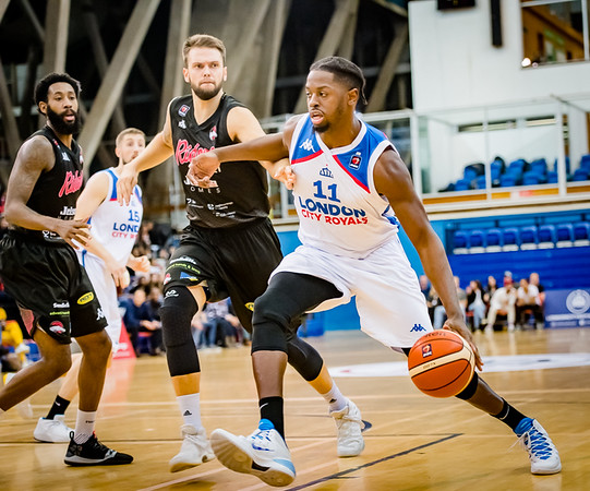 London City Royals v Leicester Riders
