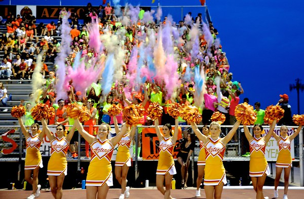 band-pom-cheer and fans