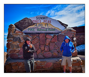 Pikes Peak, Americas Mountain - USA - Over The Years.