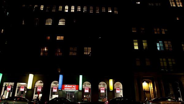 NYC Night Loft Buildings