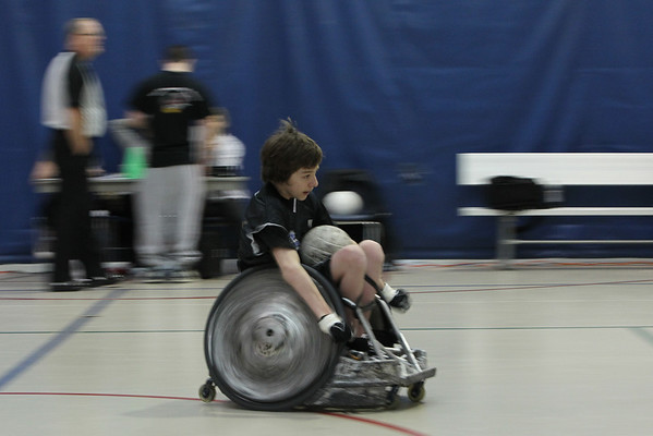 Atlantic Sectionals Wheelchair Rugby (Murderball) - Magee Eagles v Carolina Crash