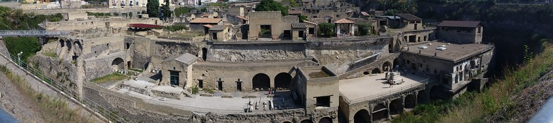 Napoli, Italy - Herculaneum Ruins