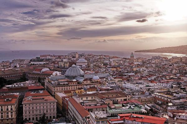 Naples - ville - hiver