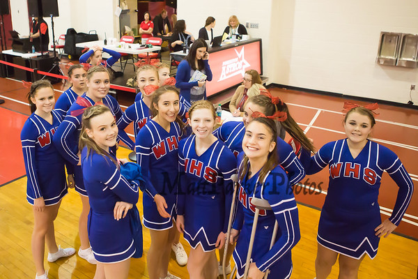 2014-11-9 WHS Cheer DIV II Championships @ Pinkerton