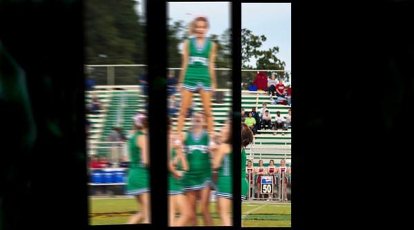 HBHS Cheerleaders 2009