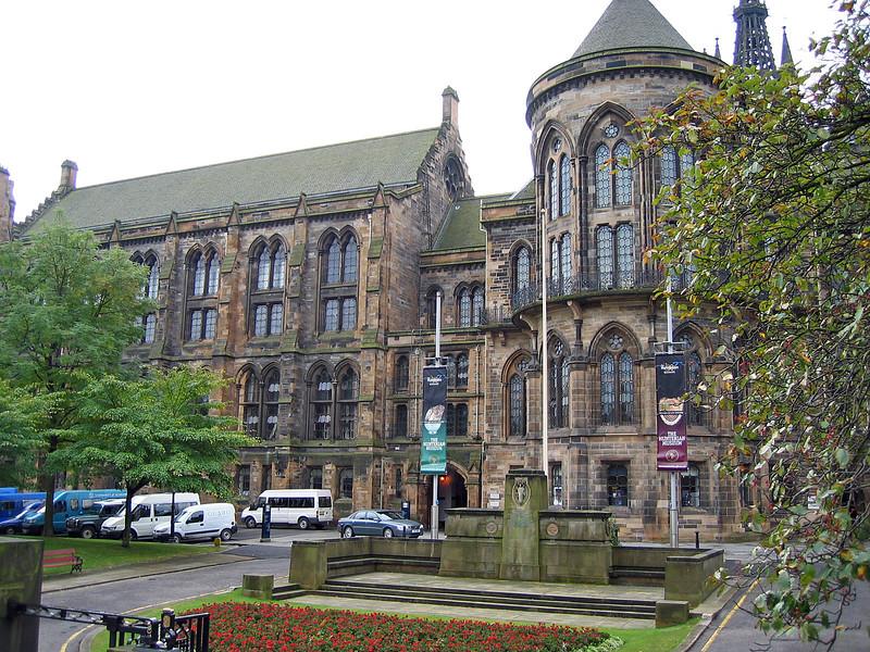 Sept. 30/07 - Glasgow University, Glasgow.