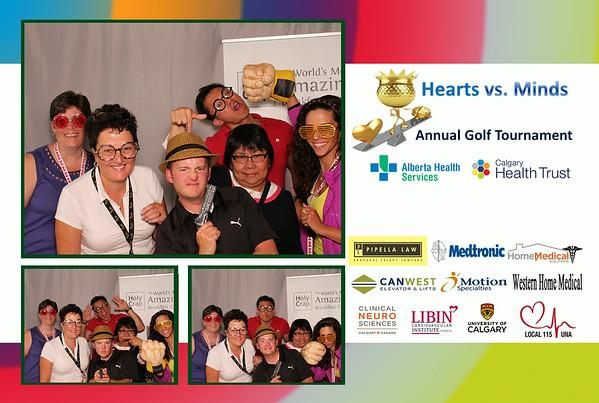 Hearts vs Minds Golf Tournament 2014