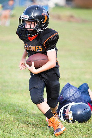 Youth Football Hampton/Cyclones Scrimmage 080416