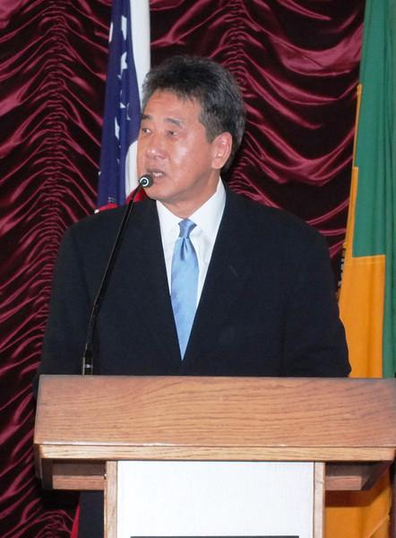 Warren Furutani-Reception at City HAll as Public Works Commissioner
