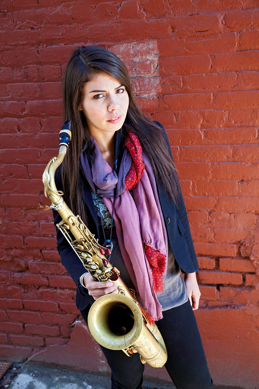 ". Melissa Aldana performs at 1 p.m. June 25 at the Hanna Theatre during the Tri-C Jazz Fest, which is happening June 23-25. For more information, visit <a href=""http://www.tri-c.edu/jazzfest/\"">tri-c.edu/jazzfest</a>. (photo credit: Courtesy of Tri-C JazzFest)"