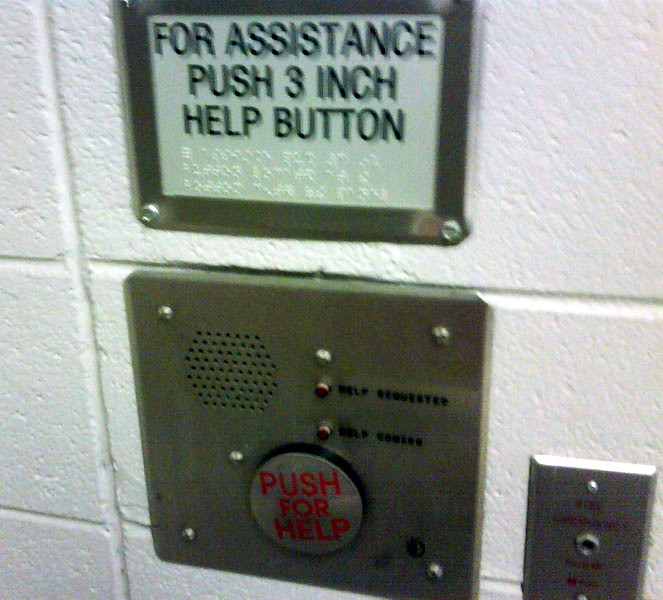 This sign guards against the possibility of future buttons of unusual size.