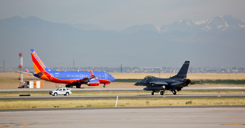 F16 and Southwest Airlines