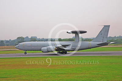 British RAF  Boeing E-3 Sentry Military Airplane Pictures