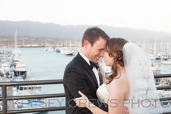 Christina and Brad's Santa Barbara Wedding
