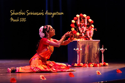 Shanthini Srinivasan's Arangetram