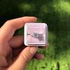 1.19ct Art Deco Carre Cut Diamond Solitaire 28