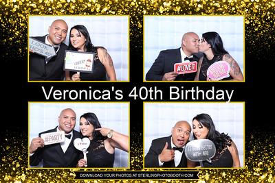 Veronica's 40th Birthday