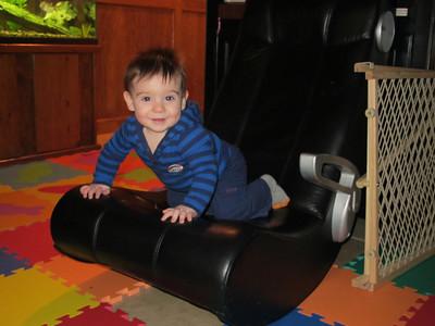 Luke at 9 months