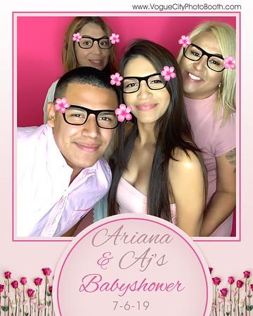 Ariana & AJ's Babyshower 7-6-19