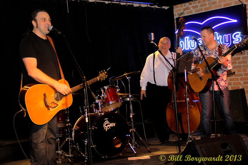 Jimmy Wiffen, Ron Mercer, Duff Robinson - Food Bank Fund Raising concert at the Blue Sky Cafe