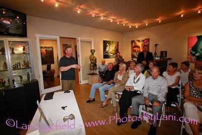 Christian Hohmann Gallery show for JD Hansen