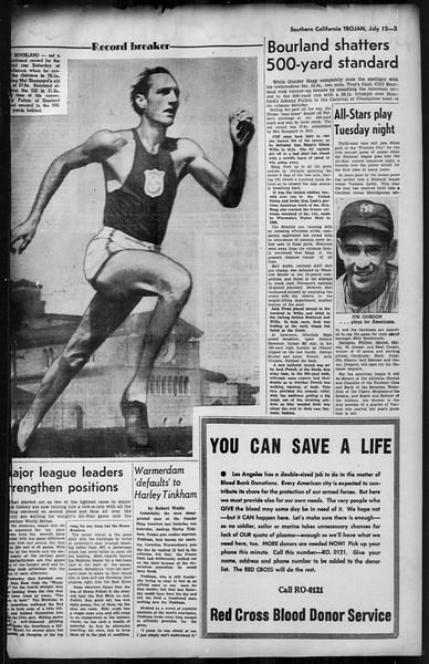 Southern California Trojan, Vol. 35, No. 4, July 12, 1943