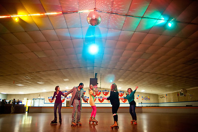 Thursday Therapy Roller Skate Party