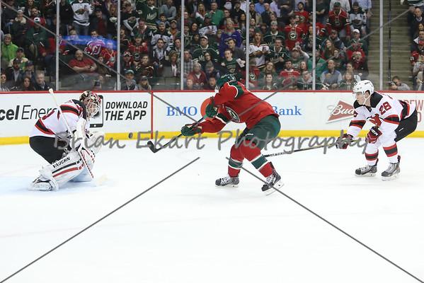 MN Wild vs New Jersey Devils - 3/10/15