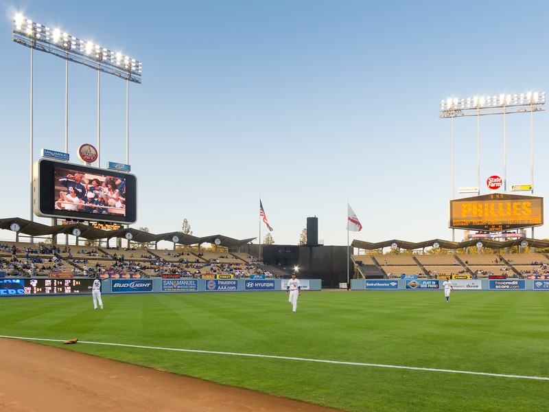 2010 08/30: Dodgers vs Phillies