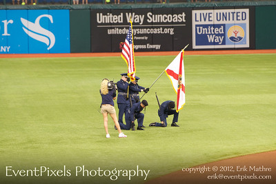 2012-09-07 Rays vs Rangers