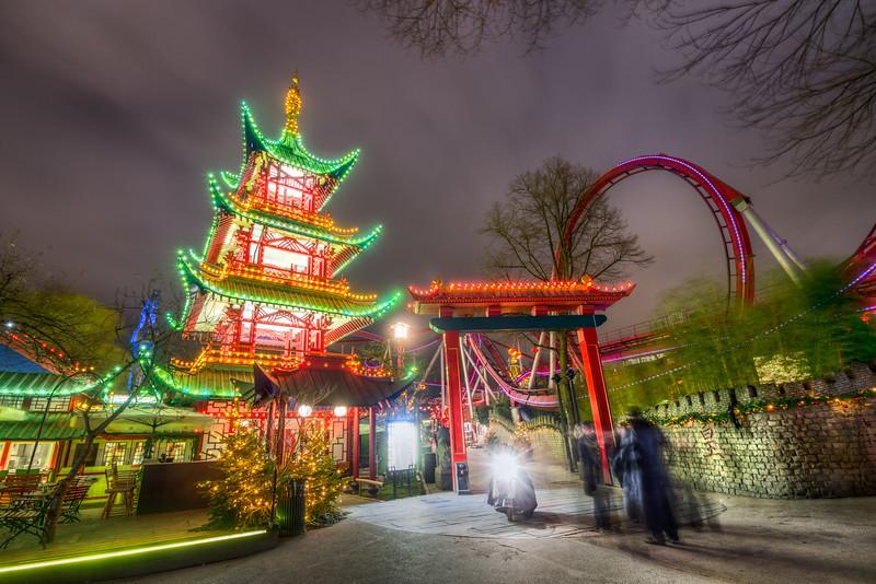 Japanese Tower in Tivoli Gardens