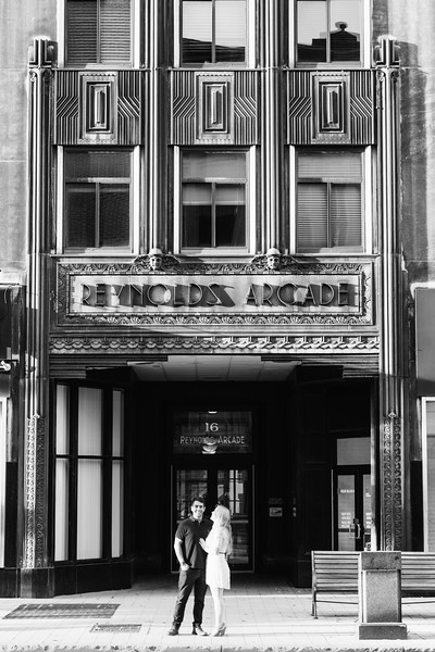 Urban Downtown Rochester New York Engagement Session Shoot Photos Pictures 028.jpg